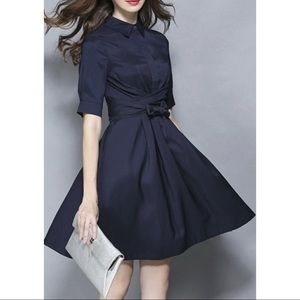 RW Dress Shirt Little Black Dress